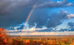 彩虹的情诗 – 席慕蓉