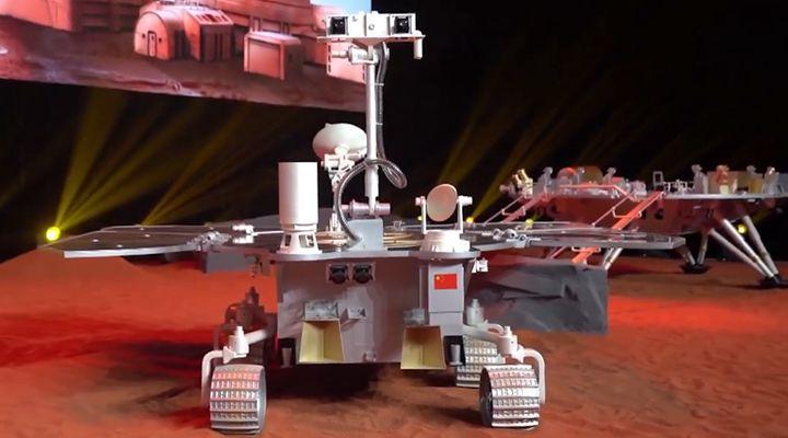 来了!中国首辆火星车正式发布!